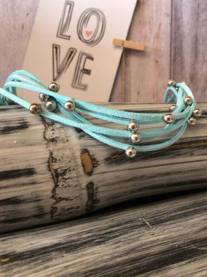 choker azul clarito producto