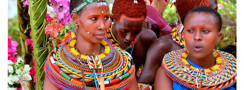 el significado del choker en la tribu Massai