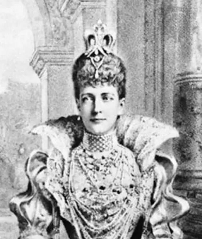 Princesa de Gales choker de diamantes