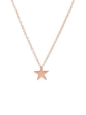 collar gargantilla dorada estrella pequeña